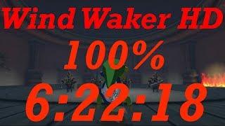 Wind Waker HD 100% Speedrun in 6:22:18