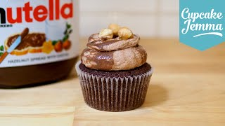 How To Make Nutella Cupcakes | Cupcake Jemma