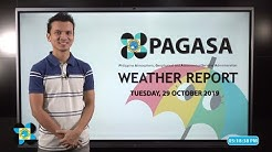 Public Weather Forecast Issued at 4:00 PM October 29, 2019