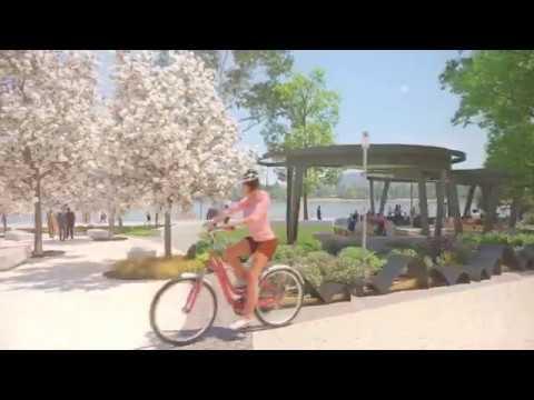 3D Flythrough - West Basin Waterfront, Canberra