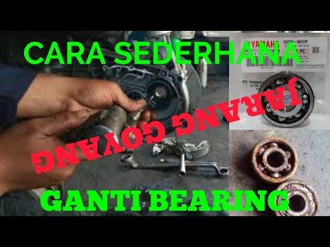 Ganti bearing roda belakang yamaha mio j