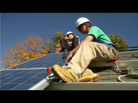 Solar Thermal Installer and Technician Career Video