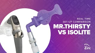 Mr.Thirsty® One-Step Time Comparison