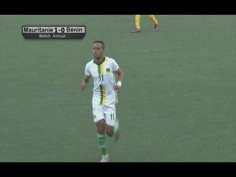 Mauritania 1 -0 Bénin - But de Moulay Ahmed Khalil dit Bessam