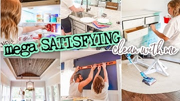NEW! MEGA SATISFYING CLEAN WITH ME 2020 | CLEANING MOTIVATION FOR THE MAMAS | HOME PROJECTS & DECOR