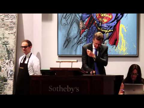 Seven Artist Records in Sotheby's $380 Million Contemporary Art Evening Sale