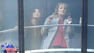 Versteckte Kamera - Ingrid Peters im Aussichtsturm