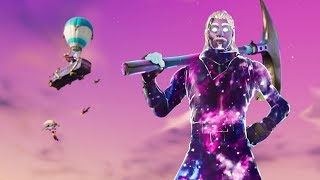GALAXY SKIN IN FORTNITE BATTLE ROYALE ROAD TO 7K -SKYVINNY