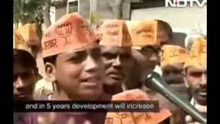 Reality Of BJP Paid Bhakt Broughtup In Rally Got Exposed