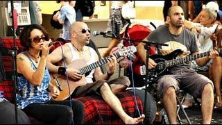 Amazing Band singing Anti Capitalism Song