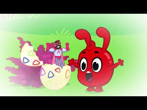 Easter Bunny In Jail - My Magic Pet Morphle | Cartoons For Kids | Morphles Magic Universe |
