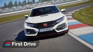 Honda Civic Type R 2017 first drive