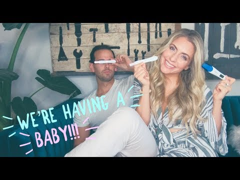 WE ARE HAVING A BABY!!!! (for real!)