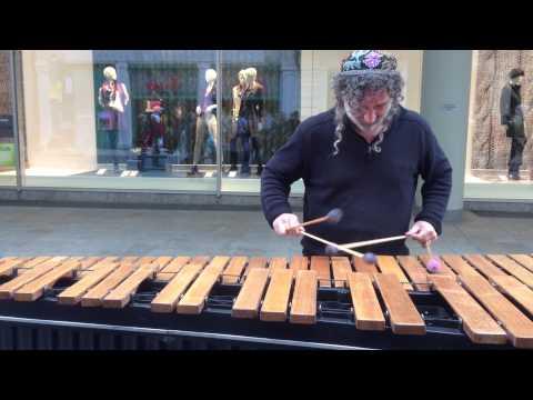 Street Musician in Leipzig