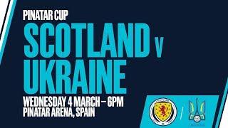LIVE Scotland v Ukraine