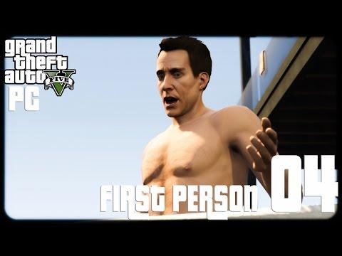 GTA V PC First Person 1080p60 w/Facecam WT #4 - تختيم حرامي السيارات الخامس - المدرب