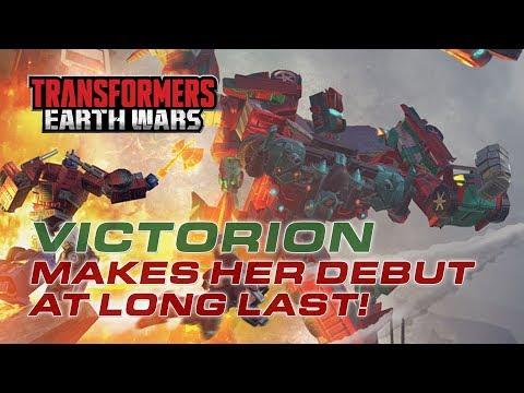 Transformers Earth Wars Victorion Skill Demonstration v2