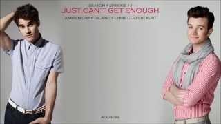 Glee _ Just Can't Get Enough Lyrics