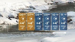 Синоптики предупреждают красноярцев о ночных заморозках и гололедице