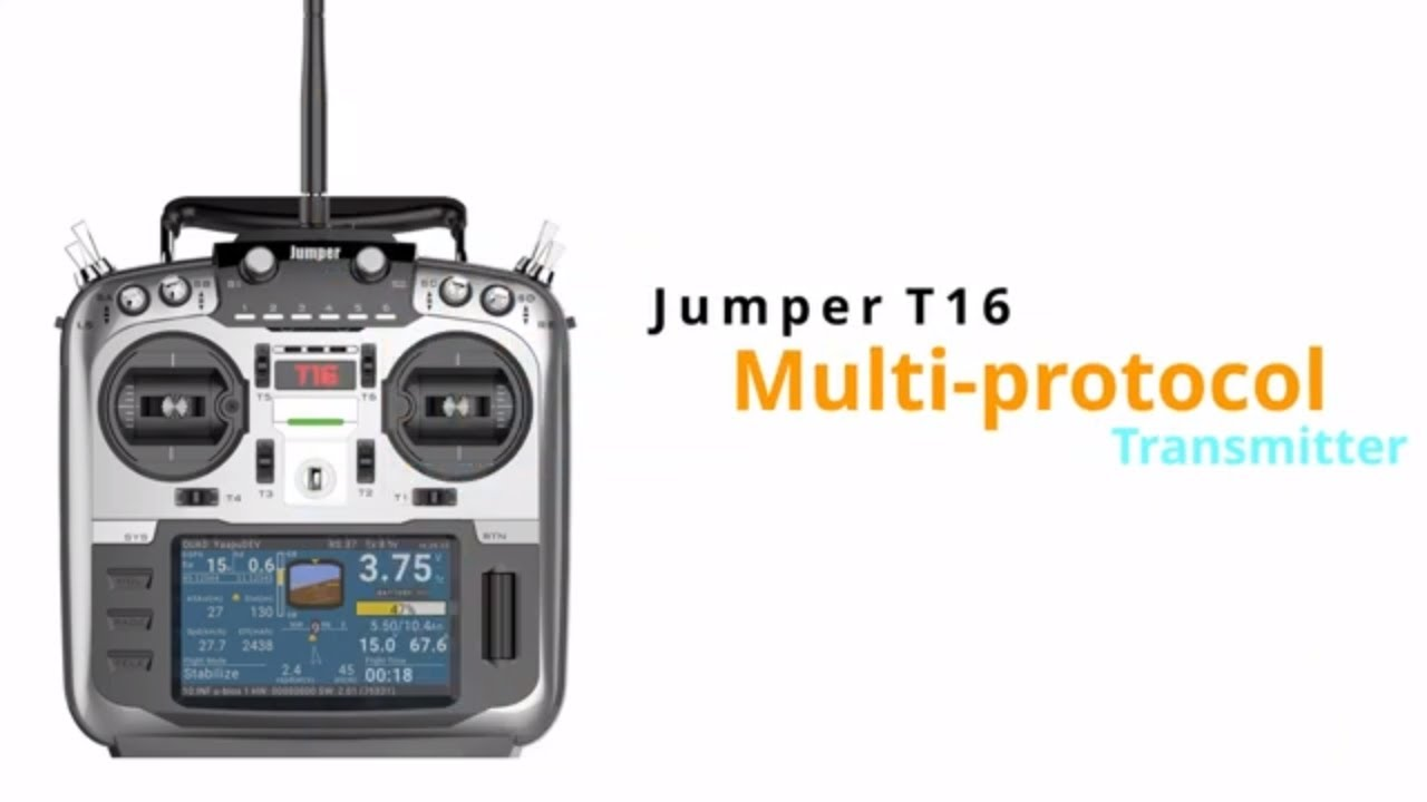 Jumper T16 2 4G 16CH Open Source Multi-protocol Radio Transmitter