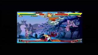 Darkstalkers Chronicle The Chaos Tower Arcade Mode Part 1