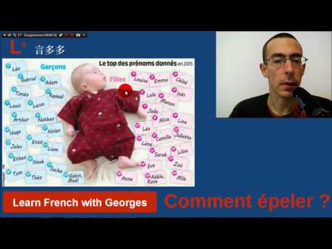 Spelling french surnames