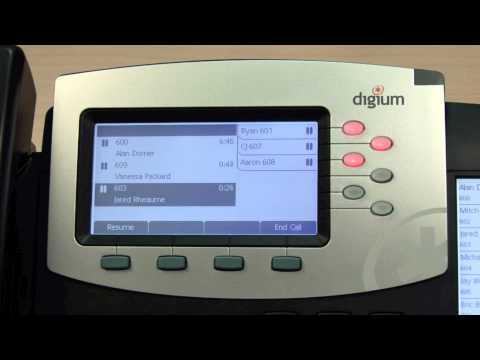 Call Control - Digium Phones