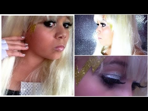 Lady Gaga Halloween Makeup,Hair&Outfit!