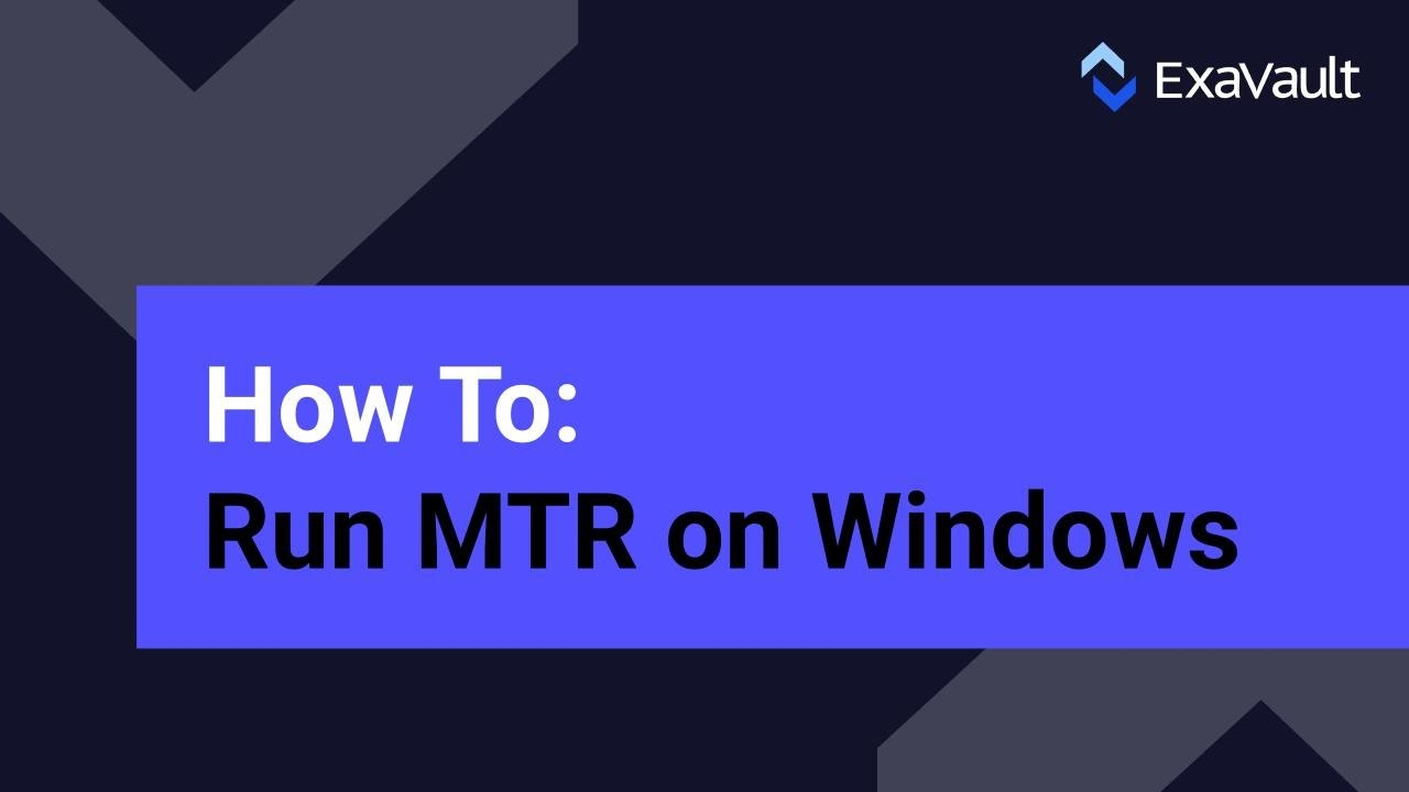 MTR | ExaVault