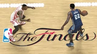 Andrew Wiggins Playoffs NBA Finals Game 1 vs. Rockets - NBA 2K14 MyCareer Andrew Wiggins