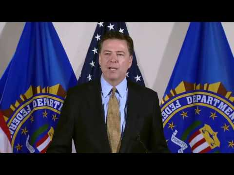 James Comey FULL Press Conference. 7/5/16 NO INDICTMENT FOR HILLARY CLINTON