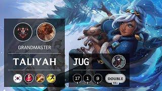 Taliyah Jungle vs Kayn - KR Grandmaster Patch 9.14