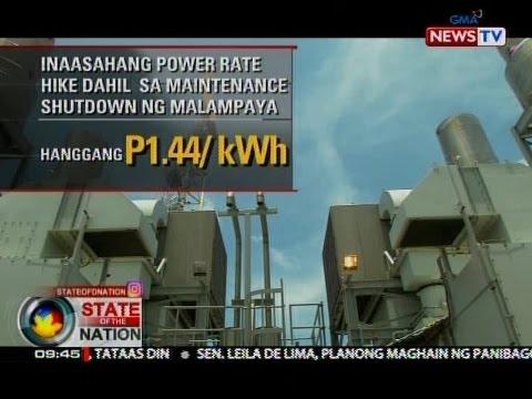 SONA: Hanggang P1.44 kada kilowatt hour, nakaambang taas-singil