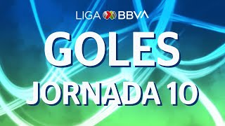 Todos los Goles | Jornada 10 - Apertura 2019 | Liga BBVA MX