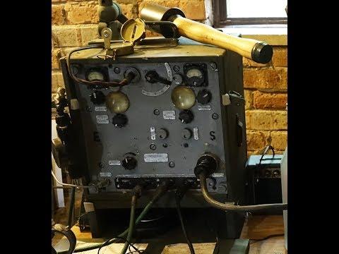 German Army Radio Room