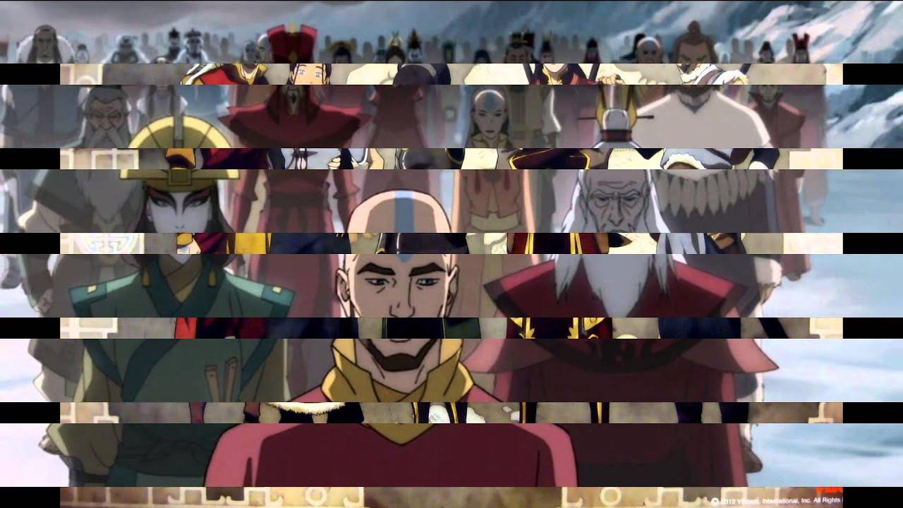 Avatar: La Leyenda De Korra [Libros 1, 2, 3 y 4] [720P HD ...