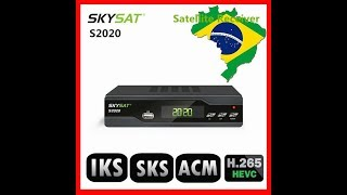 SKYSAT S2020 RECEPTOR SKY GATO MAIS TOP DA CHINA