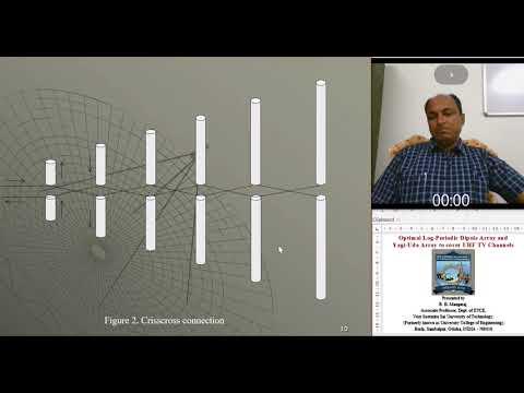 Optimal LPDA and Yagi-Uda Array for UHF TV Channels, By: Dr.  B. B. Mangaraj