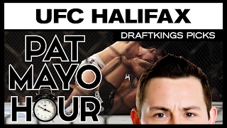 dfs mma ufc fight night halifax draftkings picks preview
