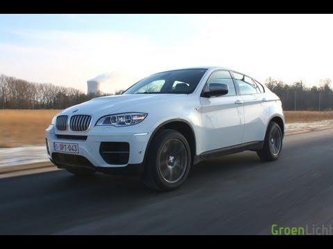 Rijtest BMW X6 M50d - GroenLicht.be