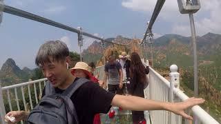 видео: Бэйдайхэ. Прохождение стеклянного моста(полная версия).2018