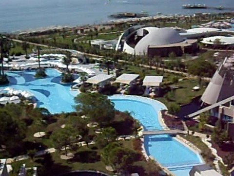 susesi deluxe resort spa pool von oben belek t rkei luxushotel youtube. Black Bedroom Furniture Sets. Home Design Ideas