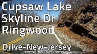 Drive New Jersey - Cupsaw Lake - Ringwood Skyline Drive - Wanaque