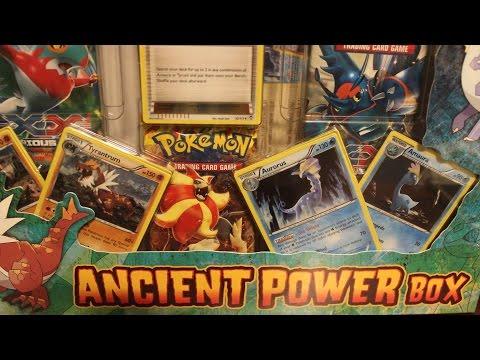 Pokemon Opening - Ancient Power Box