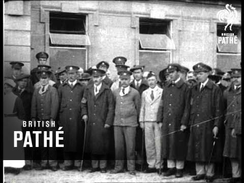 Duke Of Devonshire Opens New Hospital At Buxton (1914-1918)