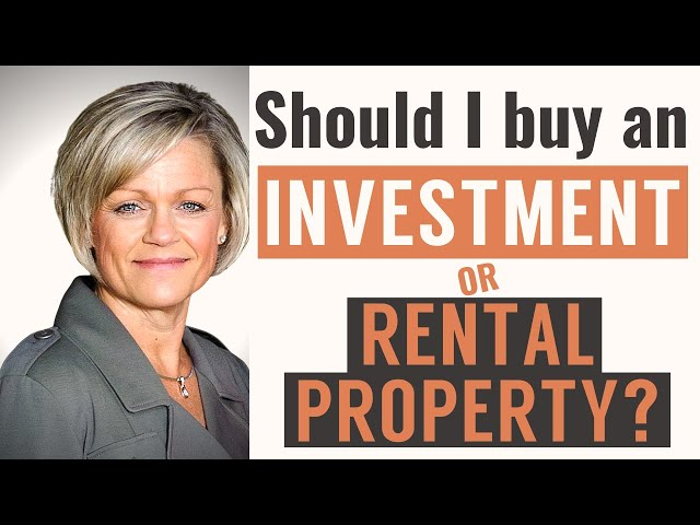 Should I buy an Investment or Rental property? | Christy Trotter