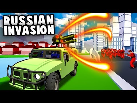 Epic Missile Defense Against Russian Special Forces Invasion! (Ravenfield Best Mods)