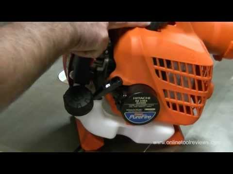 Hitachi RB24EA Petrol Blower Unboxing and Overview - OnlineToolReviews