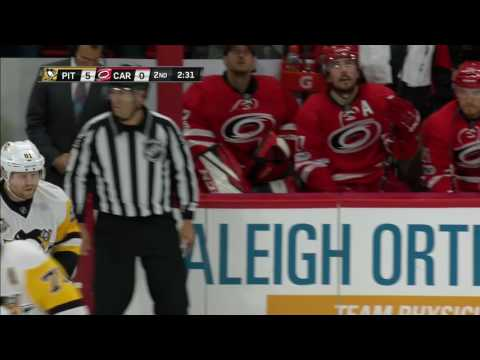 Malkin feeds Kessel with precision pass