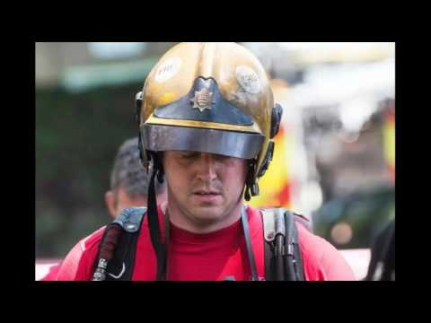 to the heroes of the London Fire Brigade